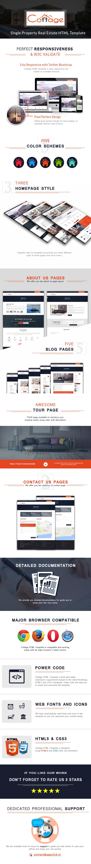 Cottage - Single Property HTML Template